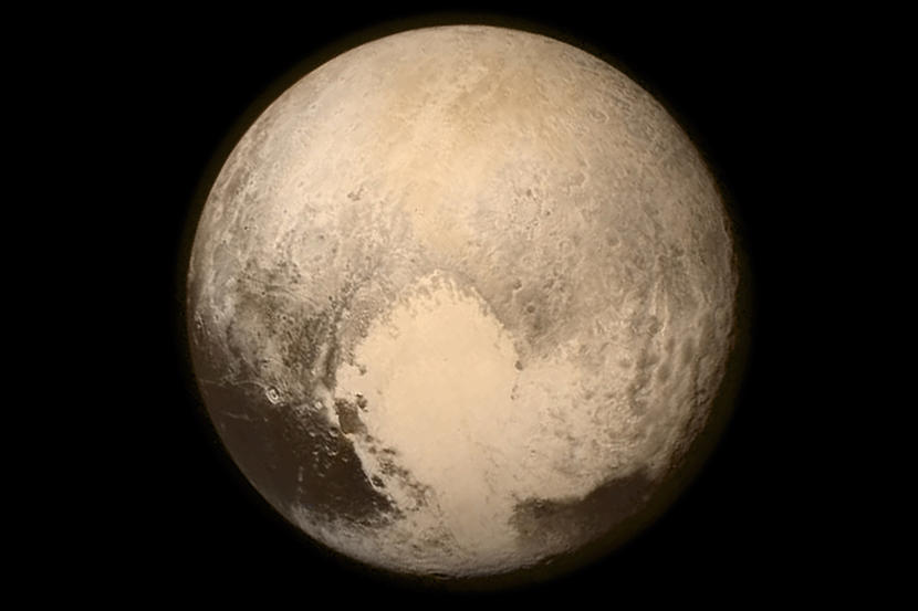 Pluto the planet that by a vote became a rock